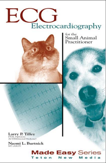 ECG for the Small Animal Practitioner book cover