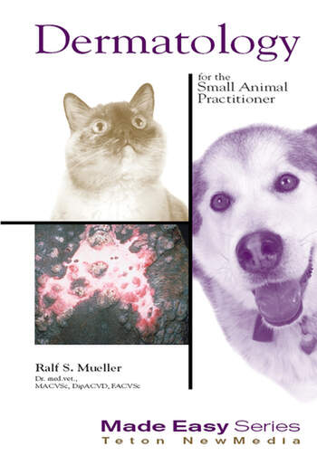 Dermatology for the Small Animal Practitioner (Book+CD) book cover