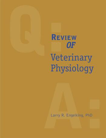 Review of Veterinary Physiology book cover