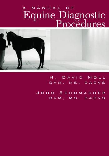 A Manual of Equine Diagnostic Procedures book cover