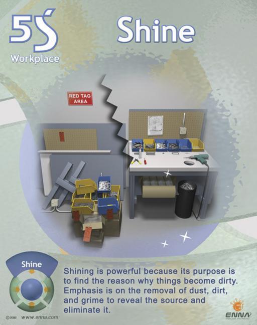 Shine Poster book cover