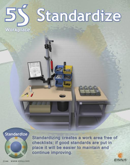 Standardize Poster book cover