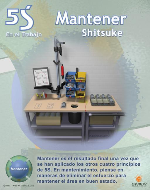 5S Sustain Poster (Spanish) book cover