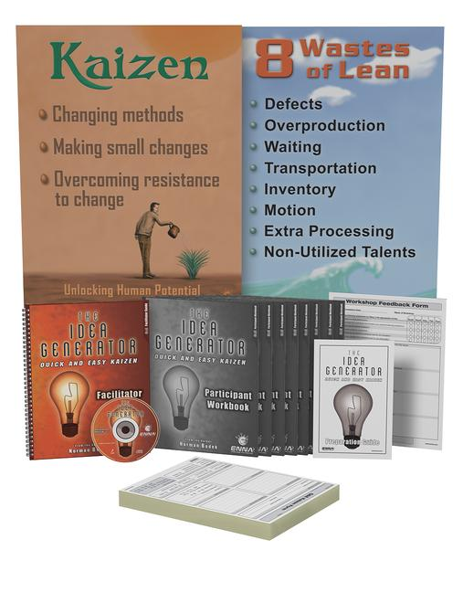 Quick and Easy Kaizen Training Package book cover