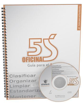 5S Office Facilitator Guide (Spanish) book cover