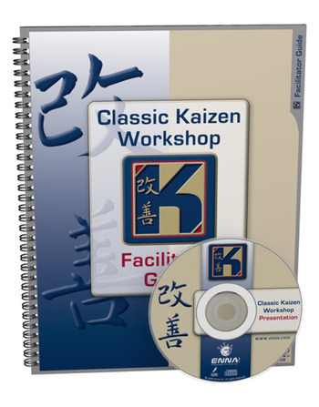 Classic Kaizen Workshop Facilitator Guide book cover