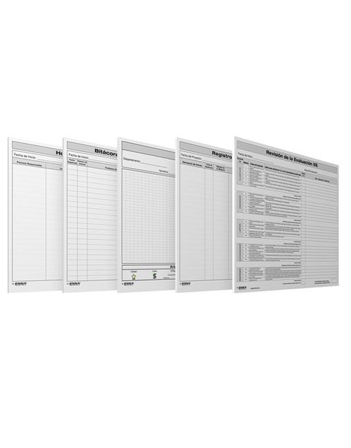 5S Para Oficina: Formularios Paquete de Solucion Formularios Paquete de Solucion book cover