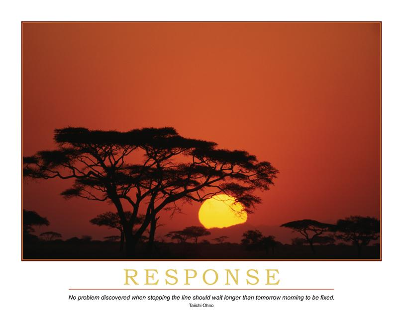 Response Poster book cover