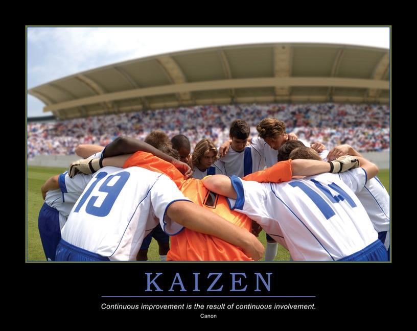 Kaizen Poster book cover