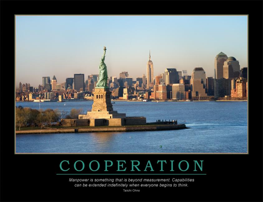 Cooperation Poster book cover