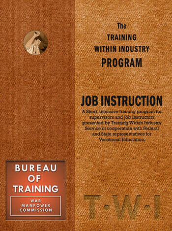 Training Within Industry: Job Instruction Job Instruction book cover
