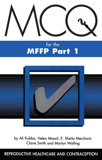 MCQs for the MFFP, Part One book cover