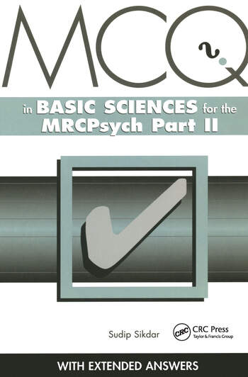 MCQs in Basic Sciences for the MRCPsych, Part Two book cover