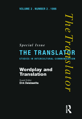 Wordplay and Translation Special Issue of 'The Translator' 2/2 1996 book cover
