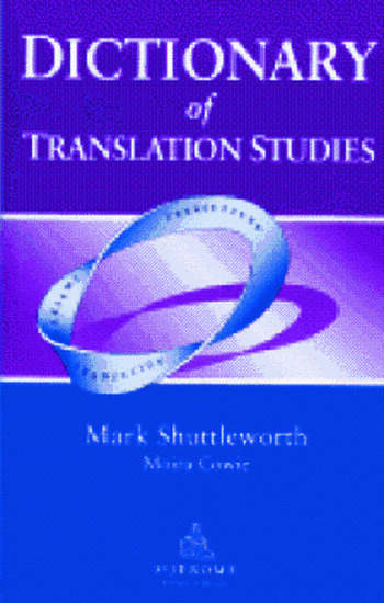Dictionary of Translation Studies book cover