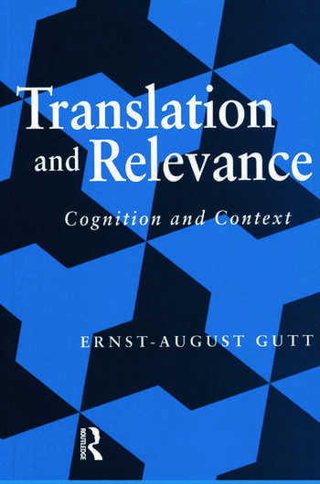 Translation and Relevance Cognition and Context book cover