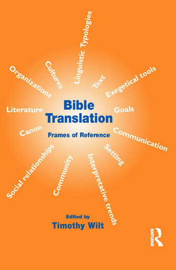 Bible Translation Frames of Reference book cover