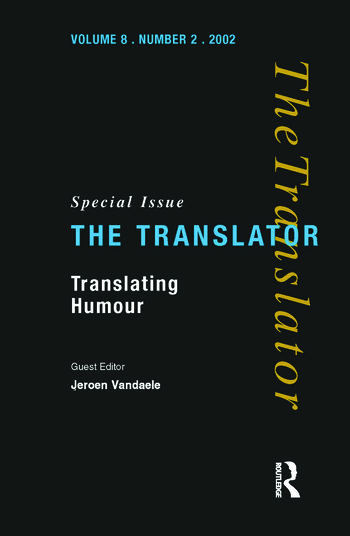Translating Humour book cover
