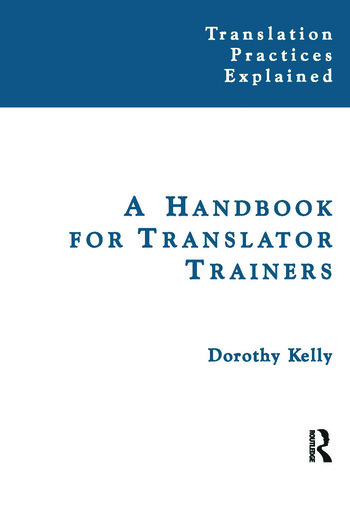 A Handbook for Translator Trainers book cover