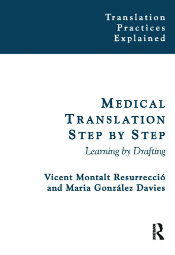 Medical Translation Step by Step Learning by Drafting book cover