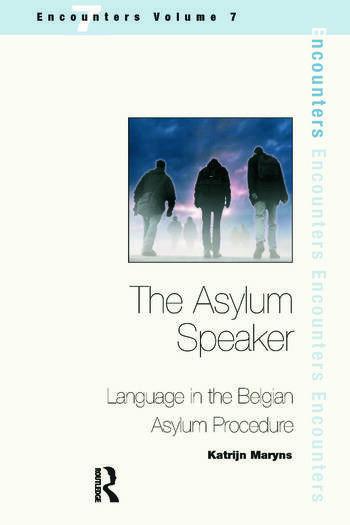 The Asylum Speaker Language in the Belgian Asylum Procedure book cover