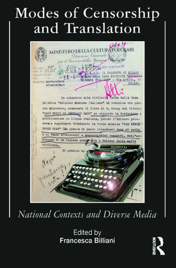 Modes of Censorship National Contexts and Diverse Media book cover