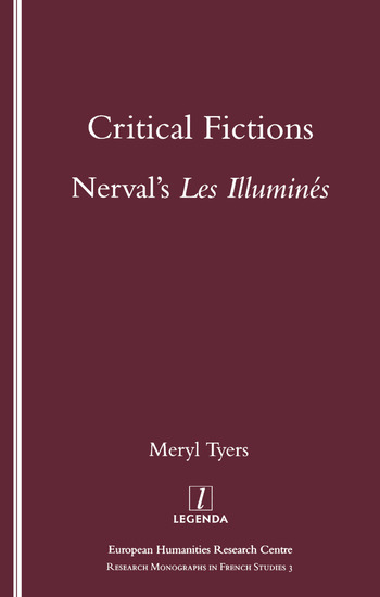 Critical Fictions Nerval's