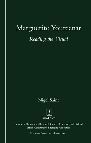 Marguerite Yourcenar Reading the Visual book cover