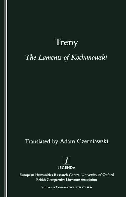 Treny The Laments of Kochanowski book cover