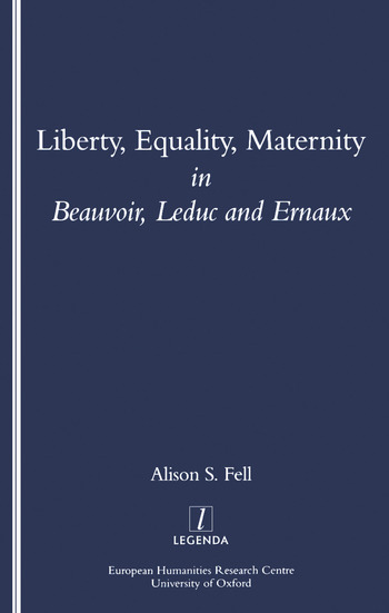 Liberty, Equality, Maternity book cover