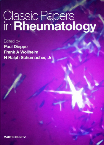 Classic Papers in Rheumatology book cover