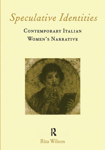 Speculative Identities Contemporary Italian Women's Narrative book cover