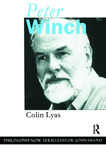 Peter Winch book cover
