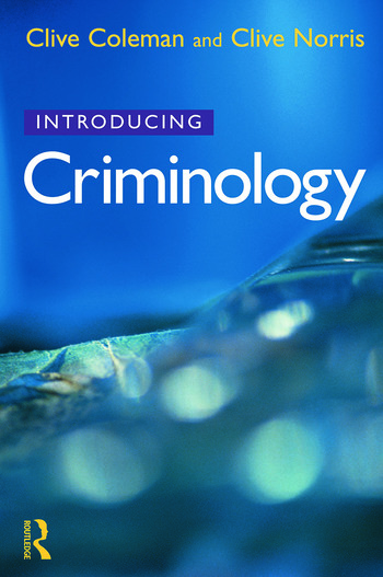 Introducing Criminology book cover
