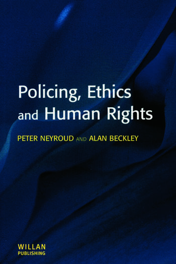 Policing, Ethics and Human Rights book cover