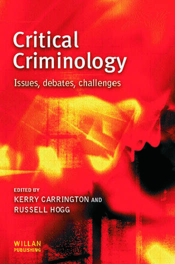 Critical Criminology book cover