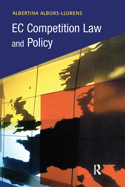 EC Competition Law and Policy book cover