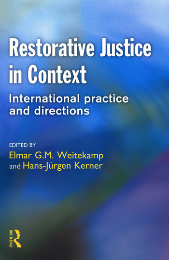Restorative Justice in Context book cover