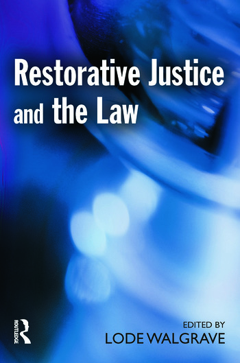 Restorative Justice and the Law book cover