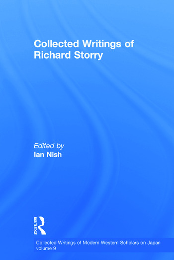 Richard Storry - Collected Writings book cover