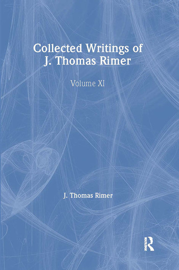 Collected Writings of J. Thomas Rimer book cover