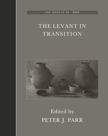 The Levant in Transition: No. 4 book cover