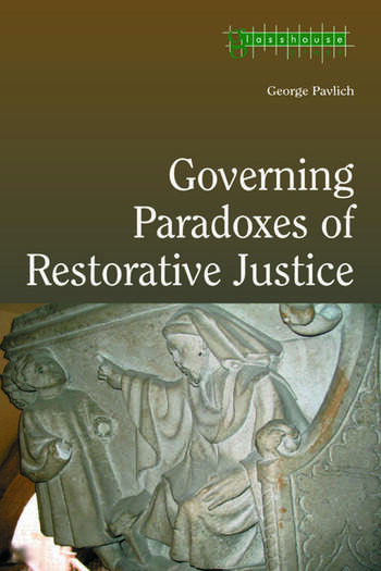 Governing Paradoxes of Restorative Justice book cover
