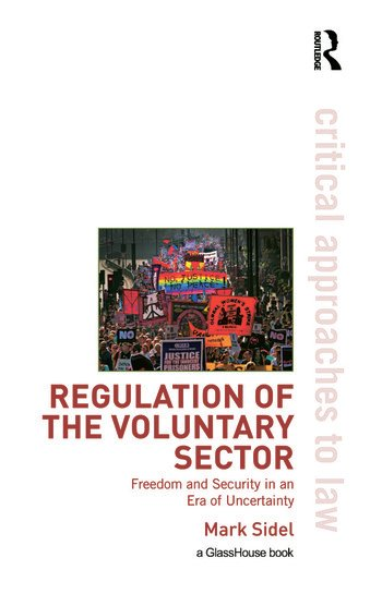 Regulation of the Voluntary Sector Freedom and Security in an Era of Uncertainty book cover