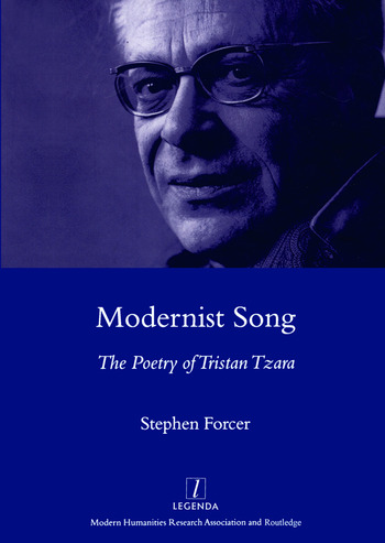 Modernist Song The Poetry of Tristan Tzara book cover