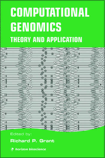 Computational Genomics Theory and Application book cover
