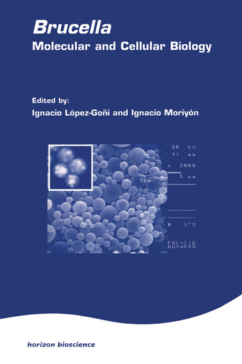 Brucella:Molecular & Cell Biol book cover
