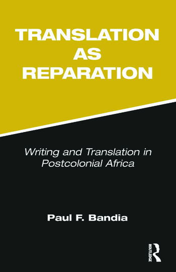Translation as Reparation book cover