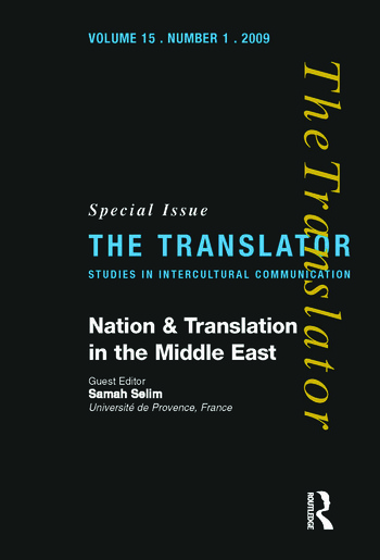 Nation and Translation in the Middle East book cover