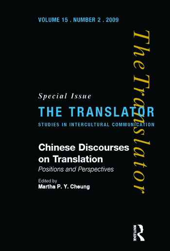 Chinese Discourses on Translation Positions and Perspectives book cover